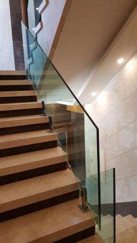 نرده شیشه ای فریم لس - صنعت ساختمان - آگهی رایگان